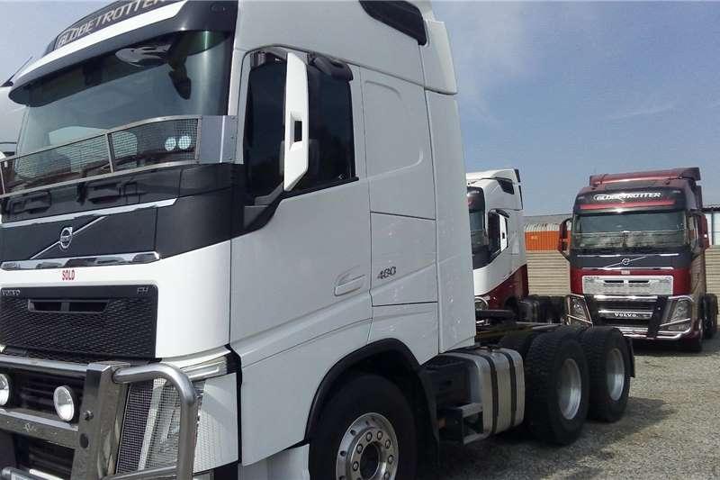 Volvo Truck tractors Double axle FH480 2014