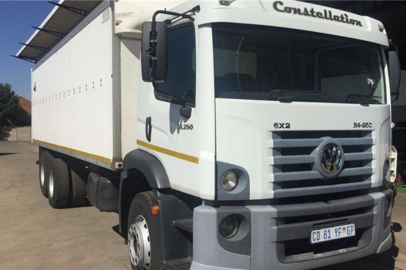 VW Box trucks Constellation 24 250 F/C 6x2 12 Ton Volume Van 2012