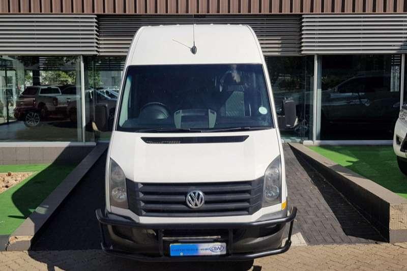 VW Buses 22 Seater CRAFTER 50 2.0 TDI HR 80KW XLWB F/C P/V 2014
