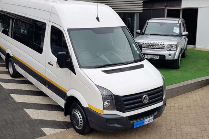VW Buses 22 Seater CRAFTER 50 2.0BITDI HR120KW XLWB F/C P/V 2017