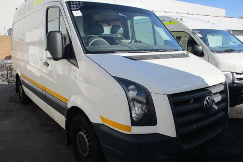 VW LDVs & panel vans Volkswagen Crafter 35 MID W/B High Roof Panel Van 2011