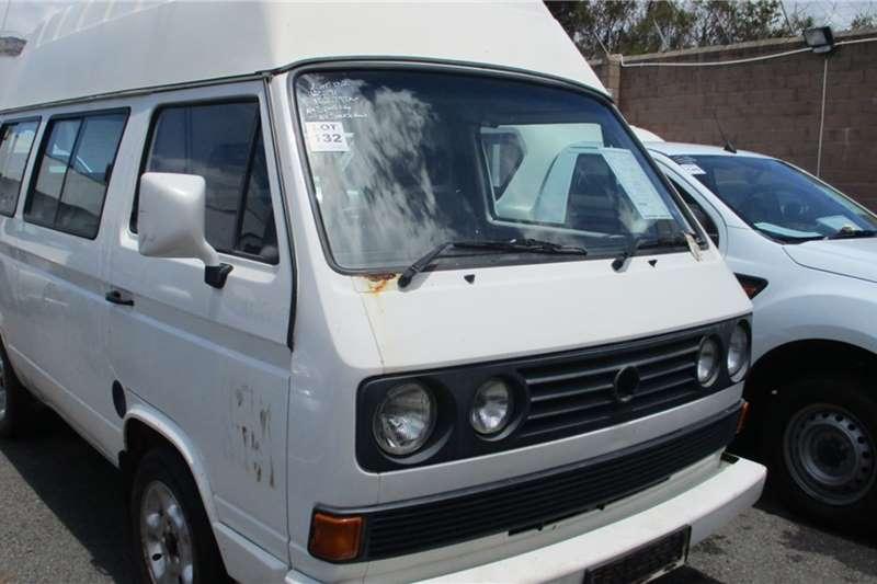 VW LDVs & panel vans Volkswagen Microbus 2.3L Mobile Clinic 2000