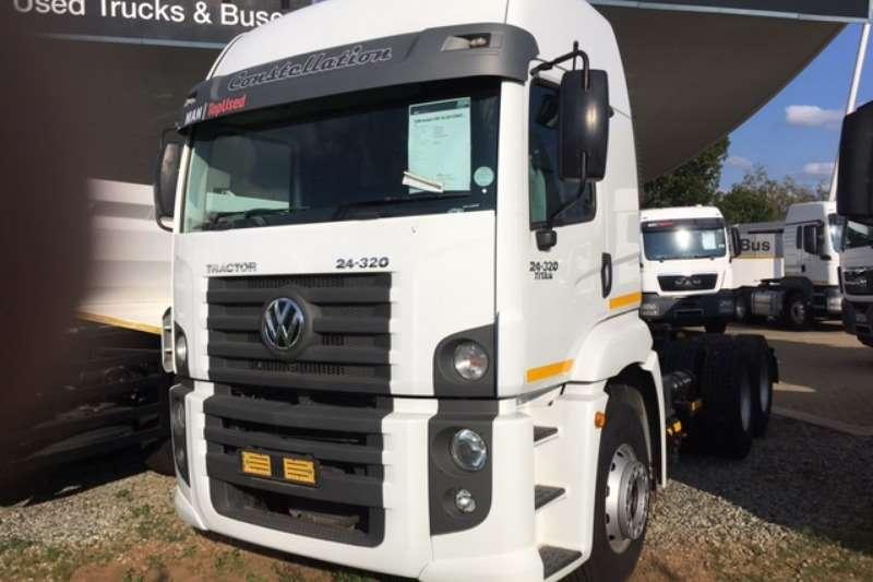 VW Truck-Tractor Double axle TITAN 24 320 6X2 2018