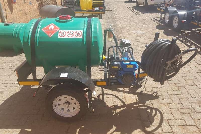 Water bowser trailer 500 Liter Plastic trailer 2019
