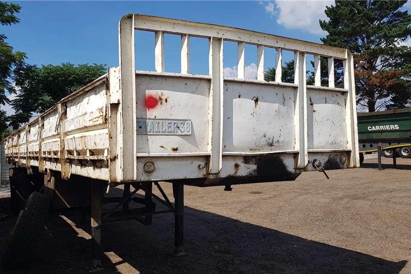 Zelna Trailers Dropside 12.5m Dbl Axle Container Locks 1995