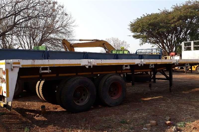 ZN HENDRED FLAT DECK TRAILER 2 AXLE 10 MTR Flatdeck trailer