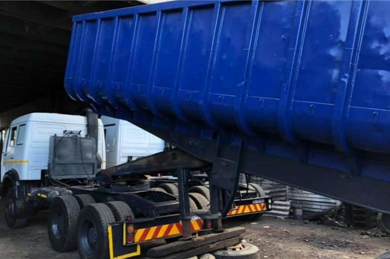 ZN Trailers Tipping bulk trailer 30m3